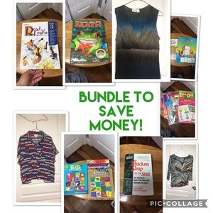 Great Items many new with tags!Bundle for savings!